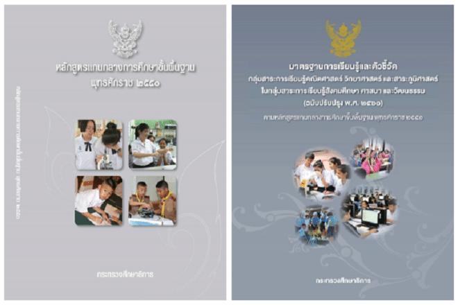 ดาวน์โหลด หลักสูตรแกนกลางการศึกษาขั้นพื้นฐาน พุทธศักราช 2551 และมาตรฐานการเรียนรู้และตัวชี้วัดฯ (ฉบับปรับปรุง พ.ศ. 2560) และเอกสารที่เกี่ยวข้อง