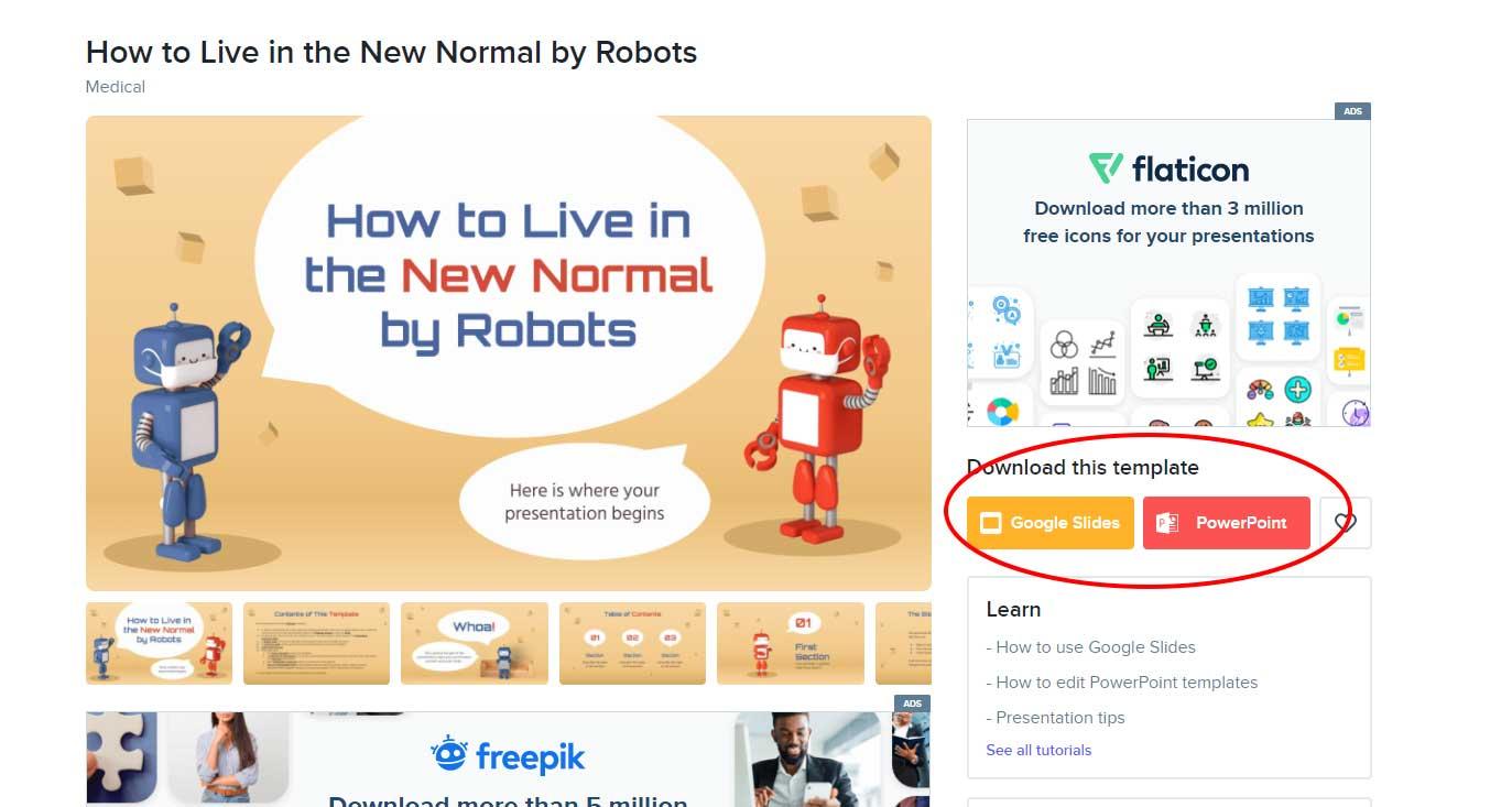 แนะนำเว็บไซต์ slidesgo.com ดาวน์โหลดเท็มเพลตพาวเวอร์พอยต์ สวยๆ ฟรี!!