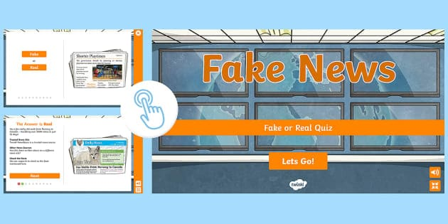 Interactive Fake News Quiz