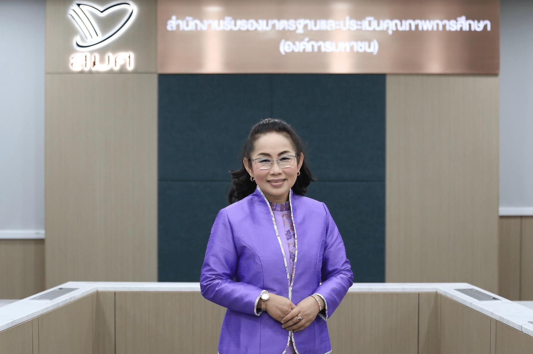 ดร.นันทา หงวนตัด รักษาการผู้อำนวยการสำนักงานรับรองมาตรฐานและประเมินคุณภาพการศึกษา หรือ สมศ