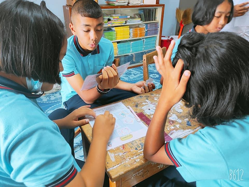 เผยแพร่ผลงานวิจัยในชั้นเรียน 5 บท แก้ไขได้ เรื่อง การพัฒนากิจกรรมการเรียนรู้โดยใช้การจัดการเรียนรู้เชิงรุกและการใช้เกมโอเอ็กซ์ เพื่อสร้างความรู้ความเข้าใจ เรื่องการแยกสาร ของนักเรียนชั้นประถมศึกษาปีที่ 6 ภาคเรียนที่ 2 ปีการศึกษา 2563 โรงเรียนบ้านนาทุ่ง