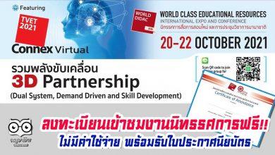 """ขอเชิญลงทะเบียนเข้าชมงานนิทรรศการฟรีไม่มีค่าใช้จ่าย พร้อมรับใบประกาศนียบัตร """"สื่อการสอนใหม่ และเข้าร่วมประชุมสัมมนาวิชาการนานาชาติ Asia Didac Forum"""" วันที่ 20-22 ตุลาคม 2564"""